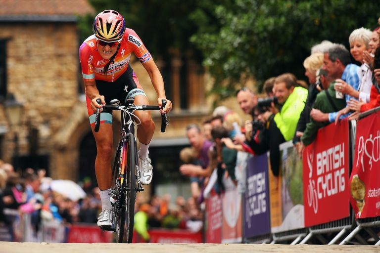 Lizzie Armitstead at the 2015 British National Road Race Championships