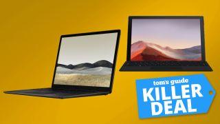 Microsoft Surface Pro 7 deal; Microsoft Surface Laptop 3 deal