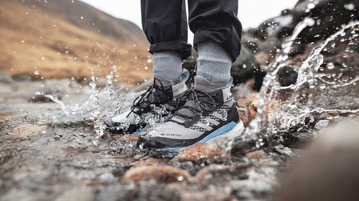 Hiking boots don't get much comfier than the ace-looking Adidas Terrex Free Hiker GTX