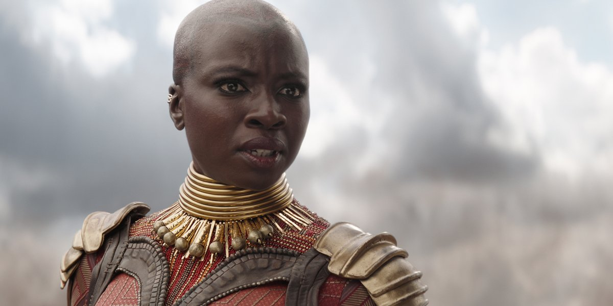 Okoye in Avengers Infinity War