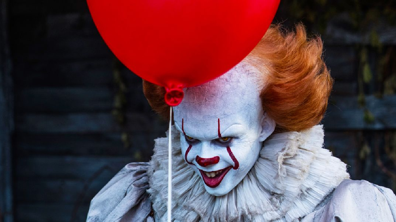 It the dancing clown in IT Chapter One.
