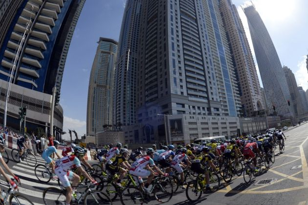 Dubai Tour 2014 stage two