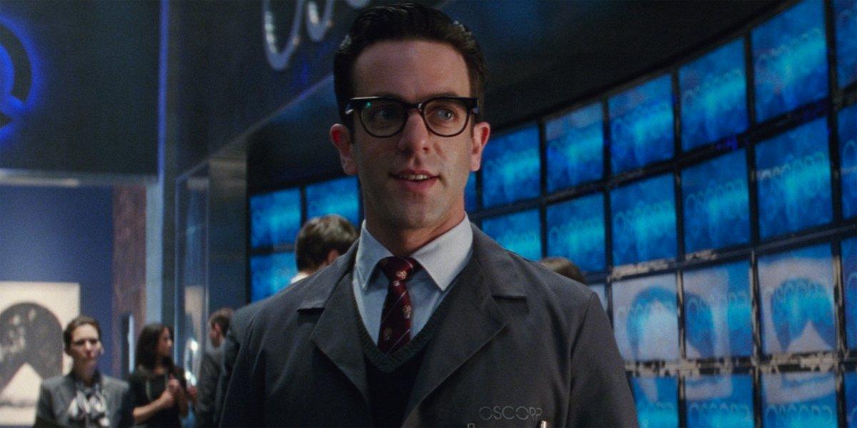 B.J. Novak as Alistair Smythe in Amazing Spider-Man 2