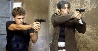 Ryan Philippe and Benicio Del Toro star in 'The Way of the Gun'.