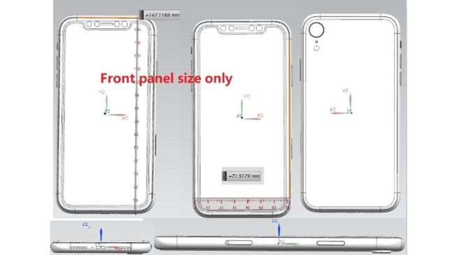 This could be the shape of the iPhone 9. Credit: Forbes / Ghostek