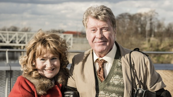 Michael Crawford and Michele Dotrice as Frank and Betty Spencer in their famous roles for a one-off sketch for Sport Relief
