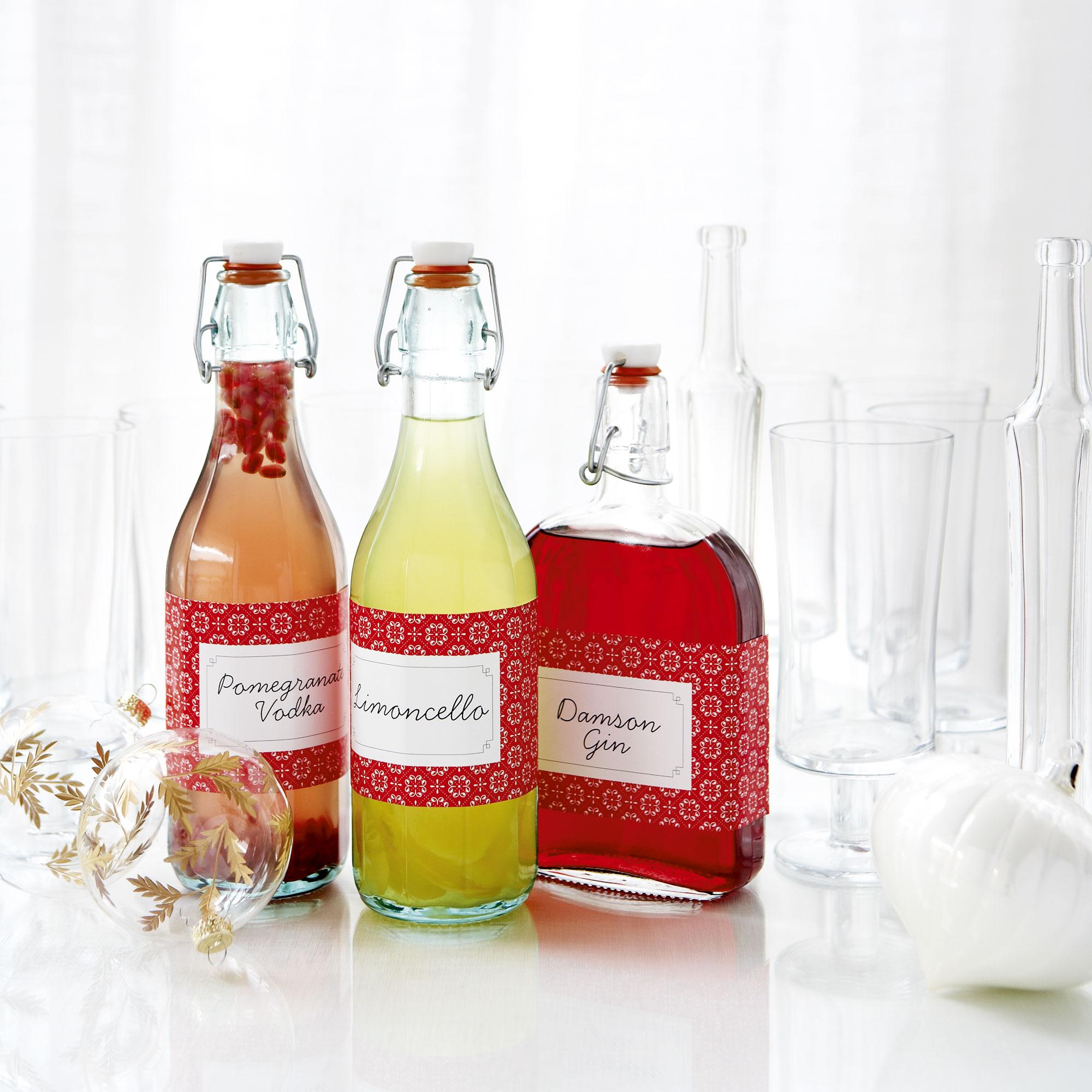 Homemade Pomegranate Vodka
