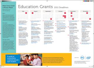 Grants Calendar and Directory, 2011-2012