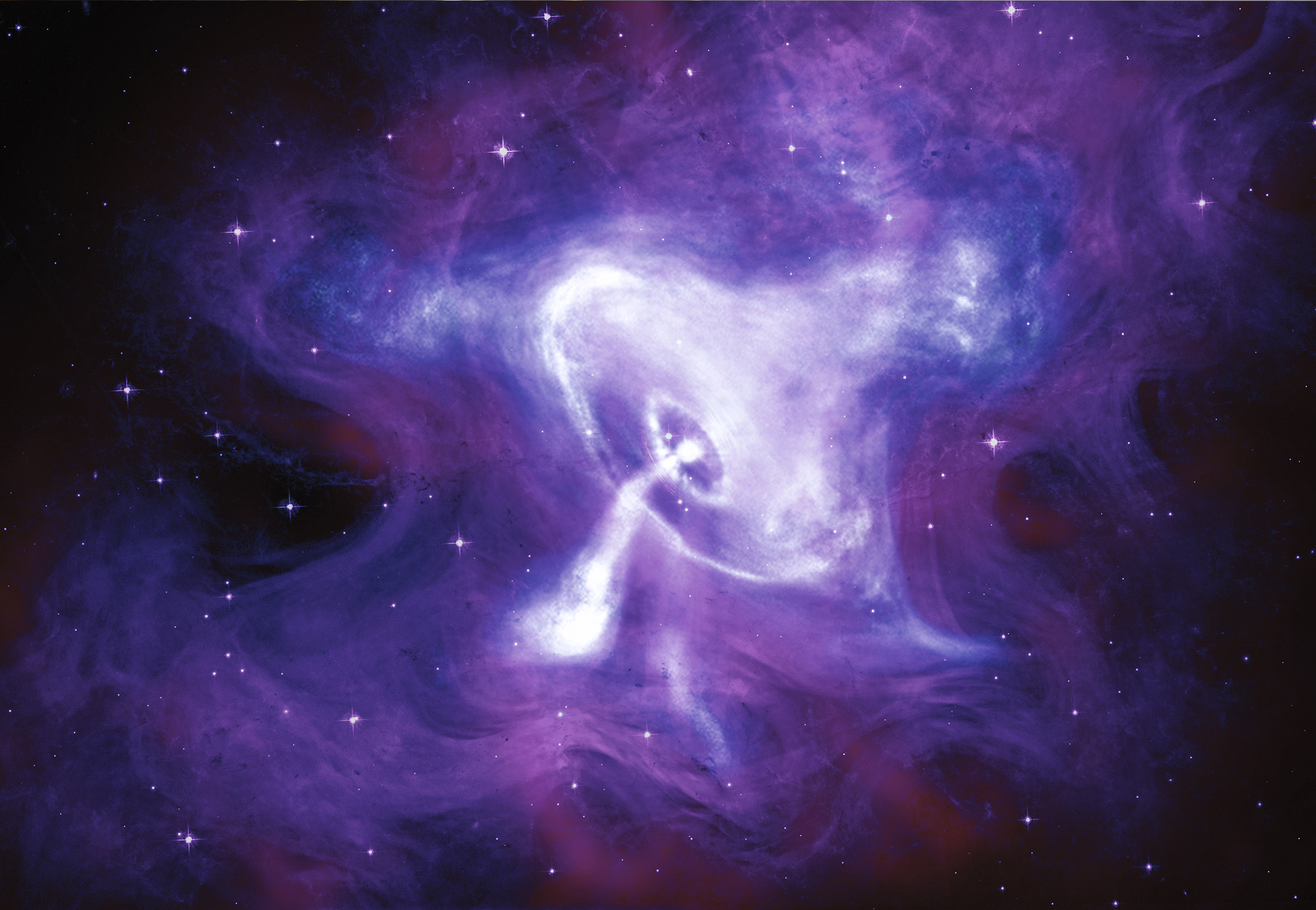The Crab Nebula sounds oddly beautiful.