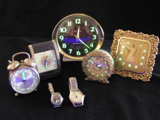 Antique clocks radium
