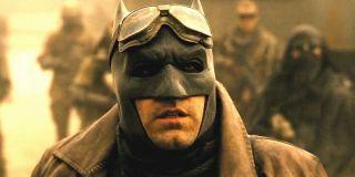 Ben Affleck in Knightmare sequence in Batman v Superman