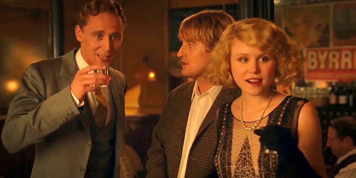 Midnight in Paris Tom Hiddleston Owen Wilson Alison Pill