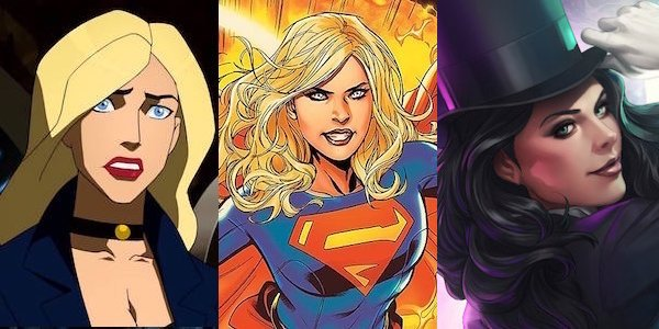 Black Canary, Supergirl, and Zatanna