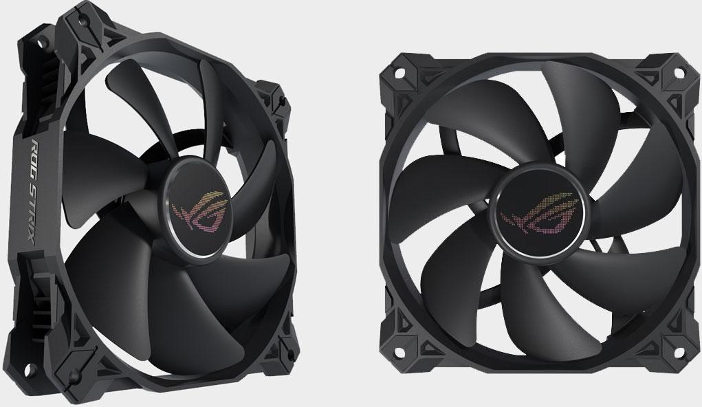 Asus is launching a 'whisper quiet' ROG Strix PC case fan in April