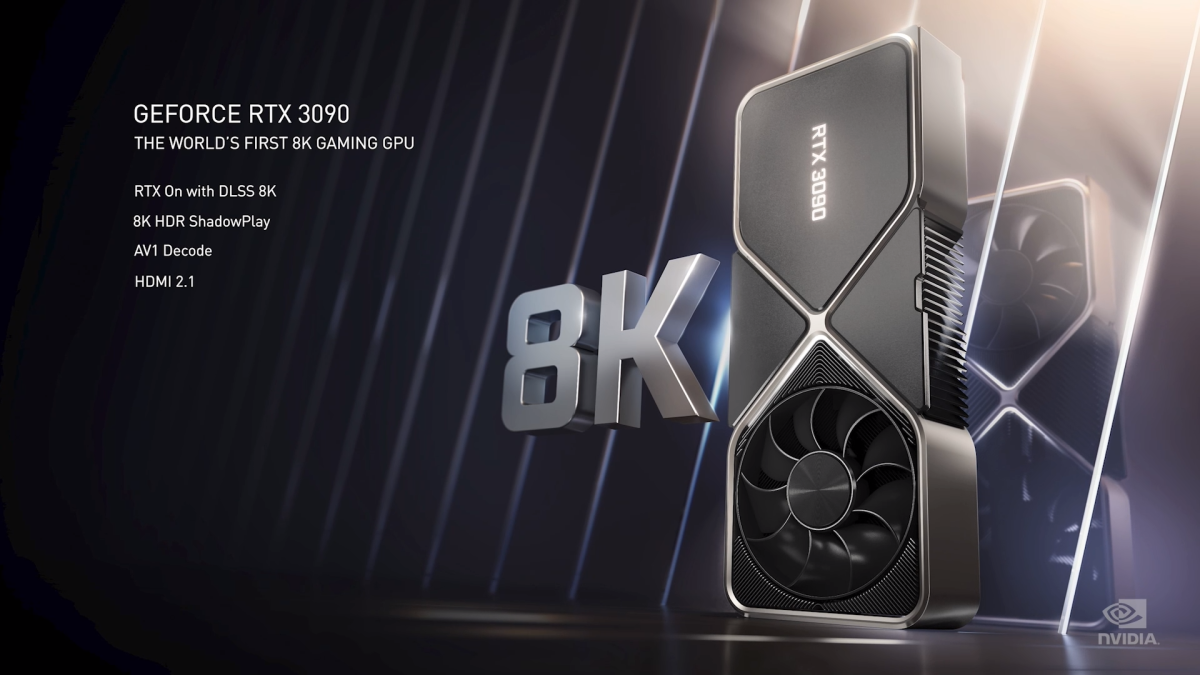 Forget PS5: Nvidia RTX 3090 shows off stunning 8K gaming