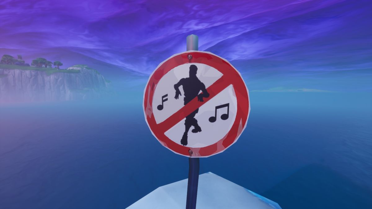 Fortnite Boogie Down mission: No Dancing sign locations ...