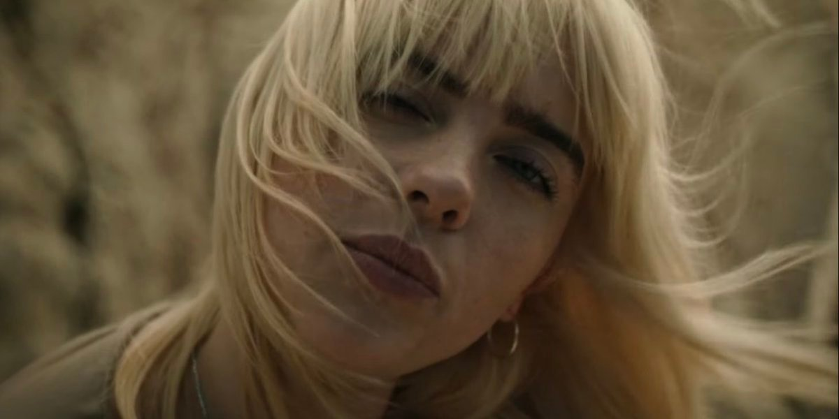 Billie Eilish in Your Power music video for Happier Than Ever album