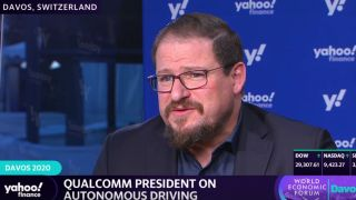 Qualcomm's president Cristiano Amon.