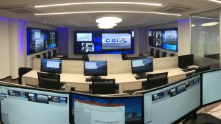 AV integrator CSI designed a three video-wall control room for the National Police of Colombia based on Datapath's VSN wall control line.