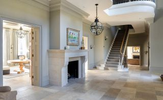 Contemporary bespoke stone staircase from Bisca