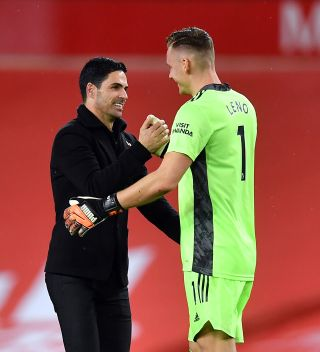 Mikel Arteta insists he will offer no assurances to when Bernd Leno will next play for Arsenal.