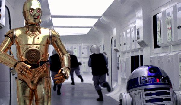 Изгой - один - C-3PO и R2-D2