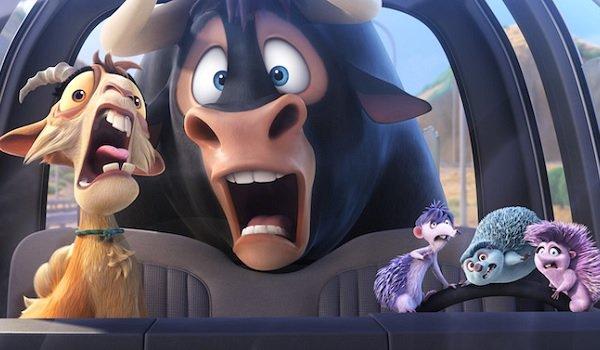 Ferdinand John Cena animals driving a runaway car