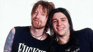 A photo of Danny McCormack with Ginger Wildheart