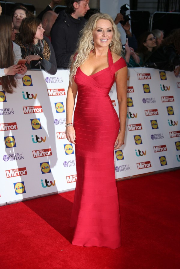 Carol vorderman that blue dress