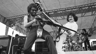 Blue Oyster Cult perform at Rockford Speedway, Chicago, Illinois, August 17, 1980