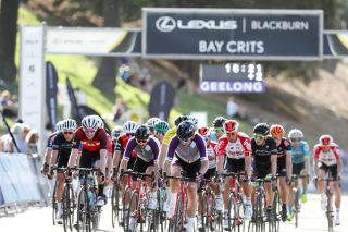 The Ritchie Boulevard circuit in Geelong promotes fast, intense racing at the Bay Crits
