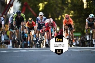 Riders fight for the top-10 placings on stage 14 of the 2020 Tour de France