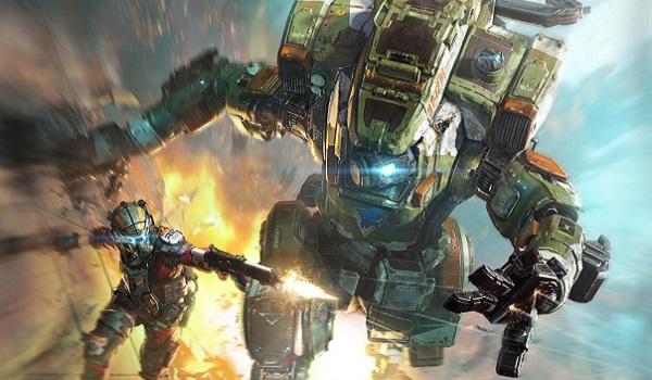 pilot and mech wall-run in Titanfall 2