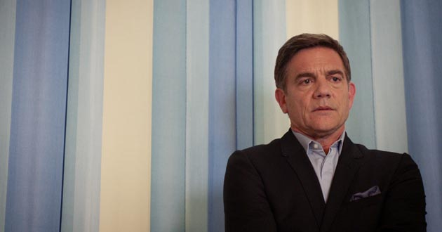 John Michie plays Guy Self in Holby City