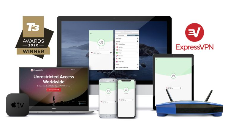 ExpressVPN Best VPN T3 Awards 2020