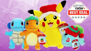 Cheap Pokemon plush deals - Pikachu and co wrap up for winter and it's ADORABLE