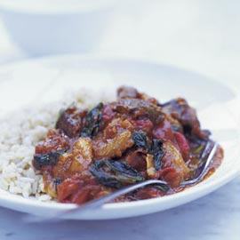 Lamb Balti with Spinach and Apricots Recipe-Food-Weight Loss Recipes-Woman and Home