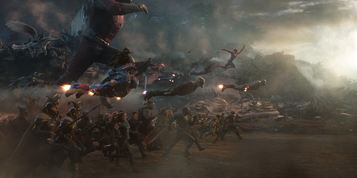 avengers assemble in Avengers: Endgame