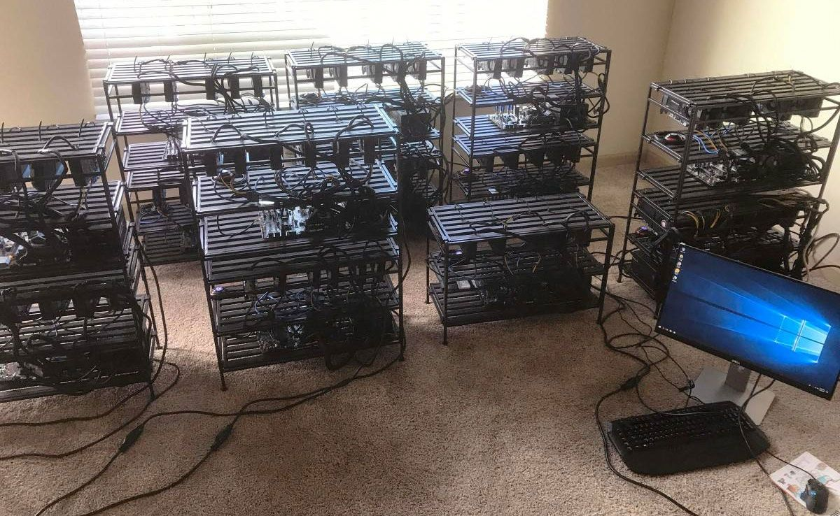 cheap bitcoin miner setup
