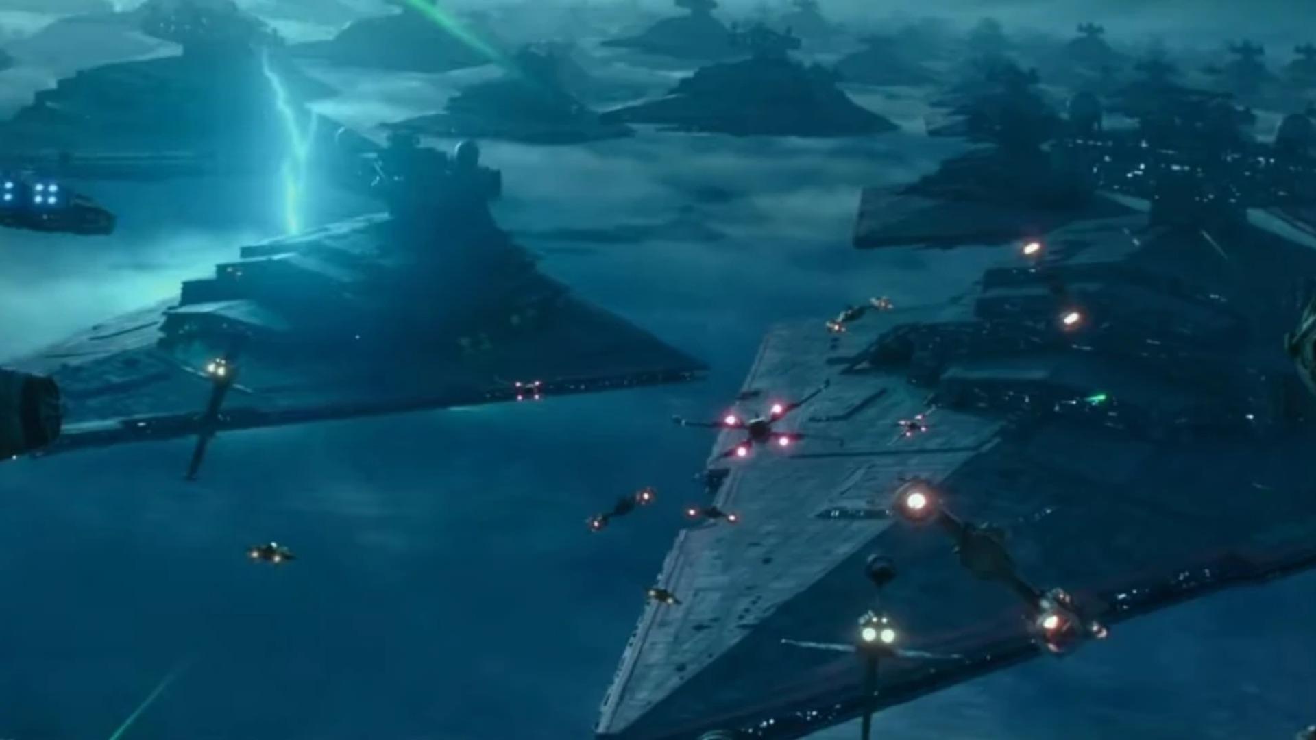 New Star Wars The Rise Of Skywalker Concept Art Reveals A Very Different Star Destroyer Gamesradar