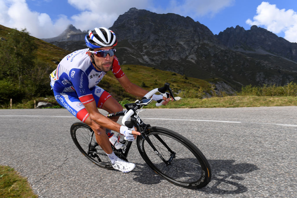 Groupama-FDJ's Thibaut Pinot has continued at this year's Tour de France – perhaps with an eye on the stage 20 time trial on home roads – despite having fallen out of contention for the GC on stage 8 of the race