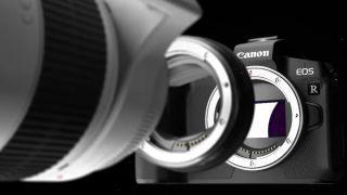 Canon EOS R + bague + objectif EF