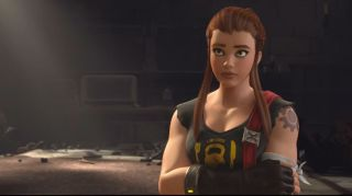 We first met Brigitte Lindholm in the Honor and Glory animated short