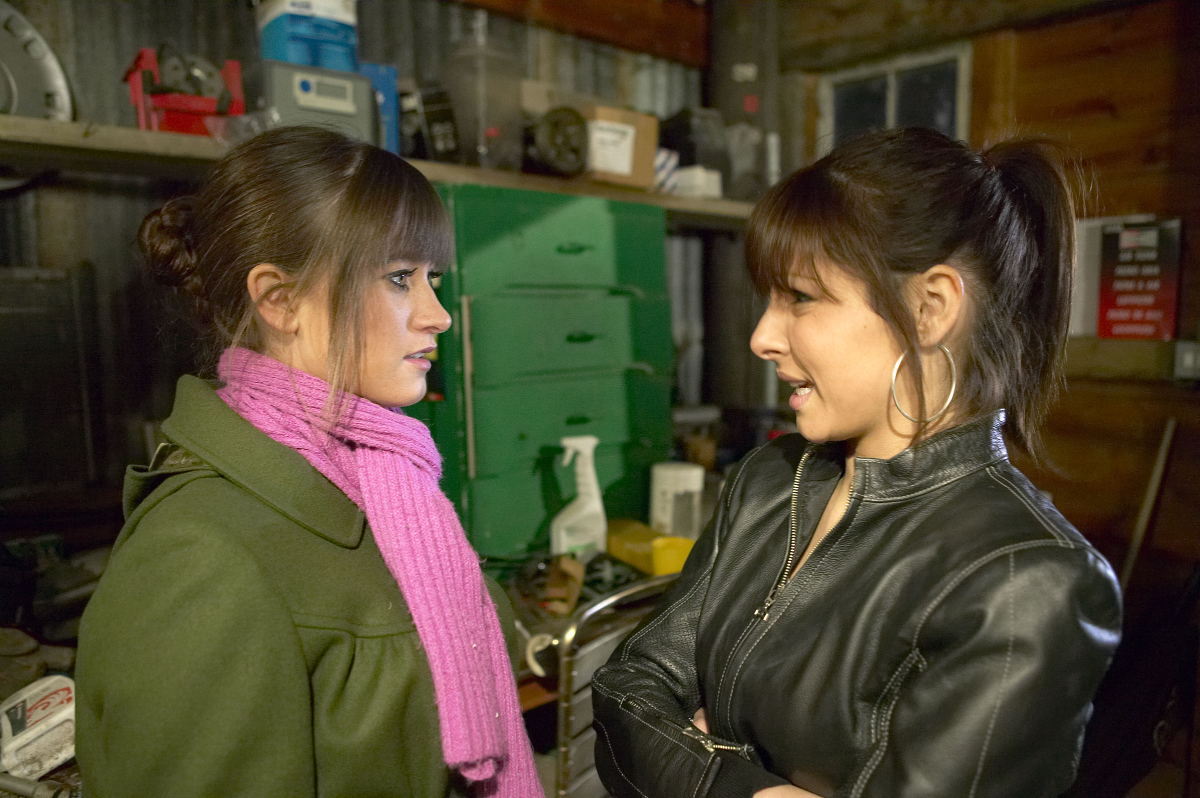 Will Debbie give up Sarah?