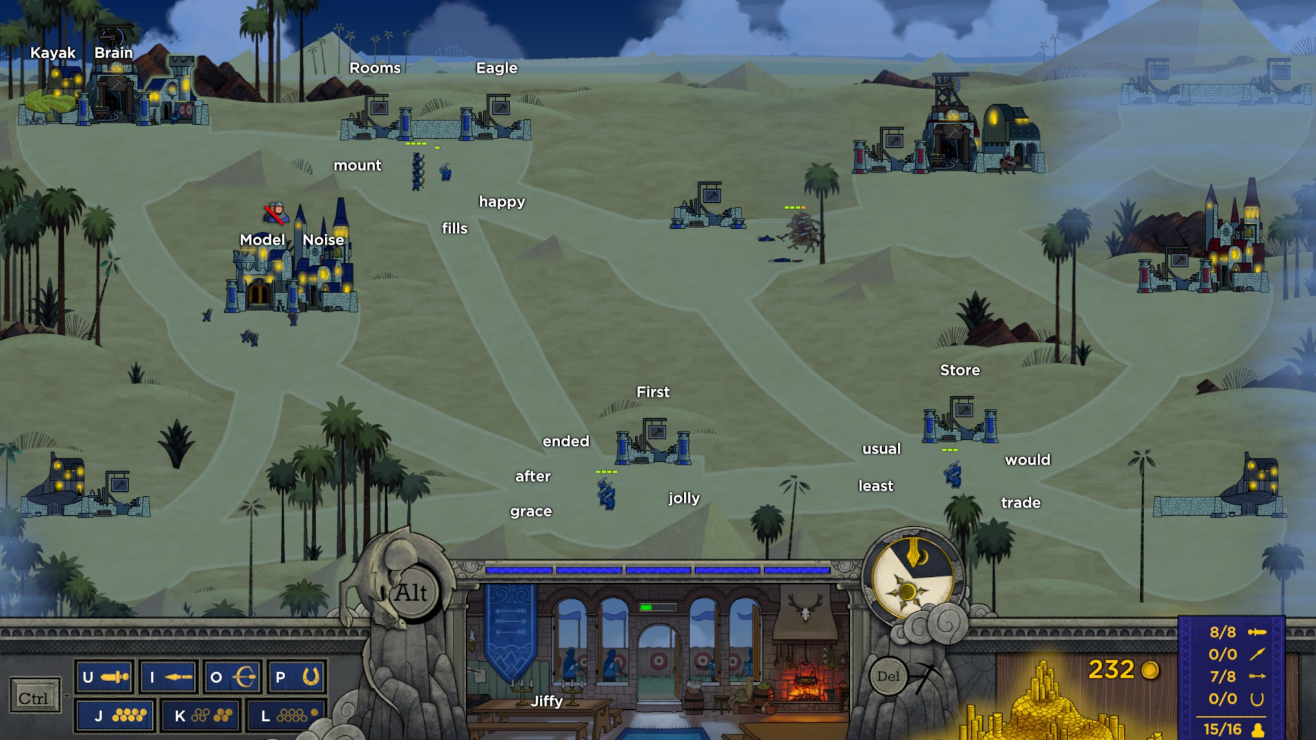 Controlling this RTS by typing works better than it has any right to   PC Gamer