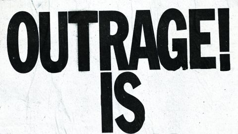 Cover art for Death From Above - Outrage! Is Now album