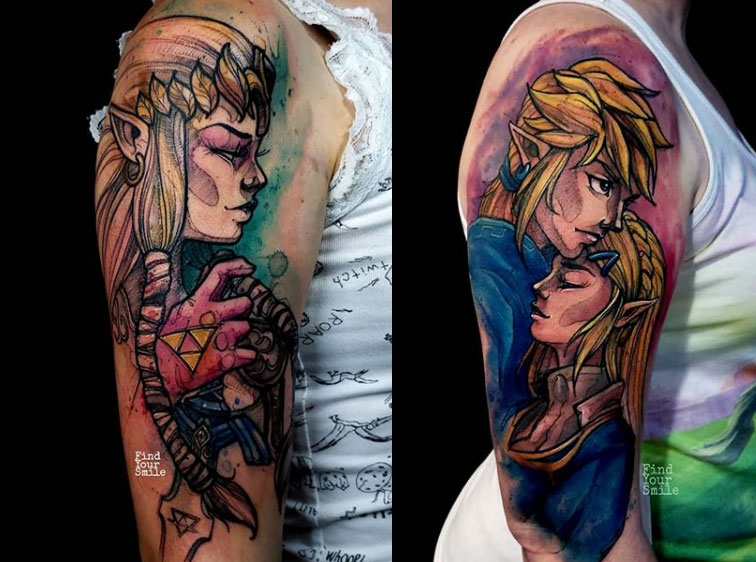 13 incredible examples of watercolour tattoo art | Creative Bloq
