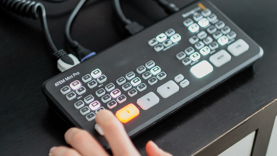 Blackmagic Atem Mini Pro Review Digital Camera World