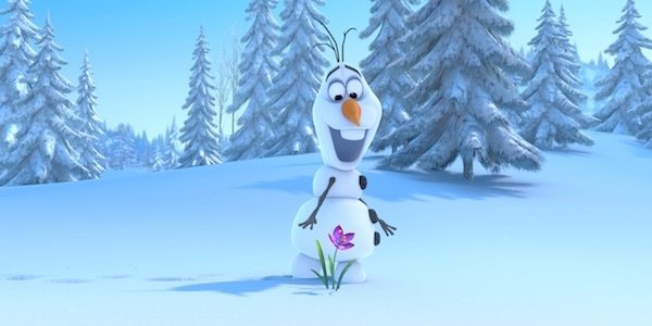 Olaf in Frozen