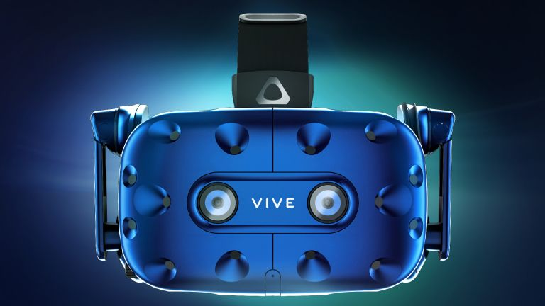 Not the Apple VR headset (It's the HTC Vive Pro)